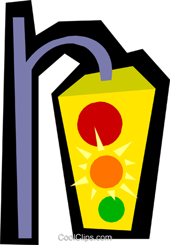 Traffic lights Royalty Free Vector Clip Art illustration tran0427