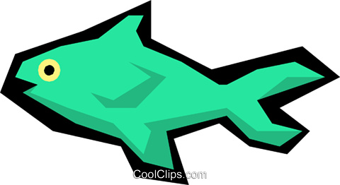 Fish Royalty Free Vector Clip Art illustration anim1083