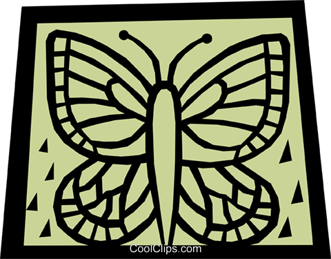 Insects Royalty Free Vector Clip Art illustration anim1120