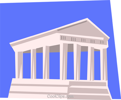 Architecture Royalty Free Vector Clip Art illustration arch0311