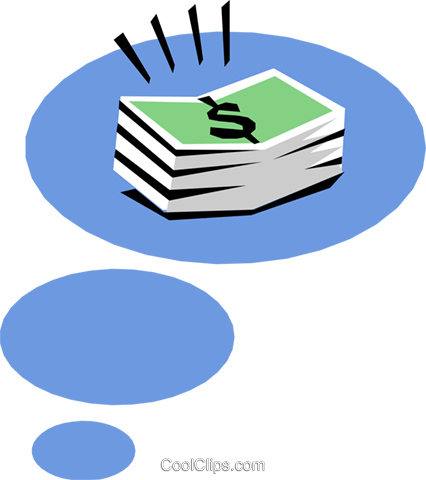 Money Vektor Clipart Bild busi0699