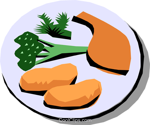 Meals Royalty Free Vector Clip Art illustration food0580