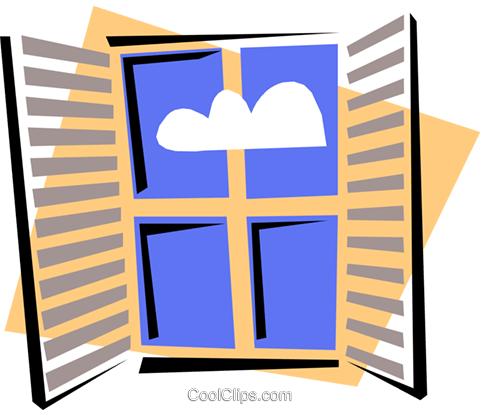 Windows Vektor Clipart Bild hous0767