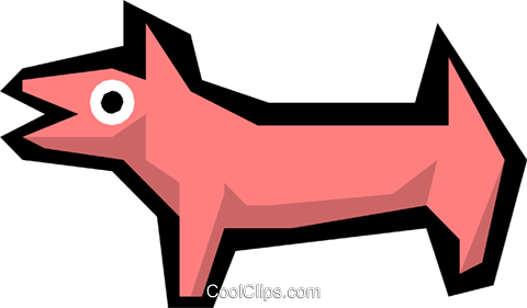 Animals Royalty Free Vector Clip Art illustration anim1146