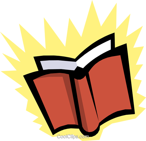 Books Royalty Free Vector Clip Art illustration busi0701