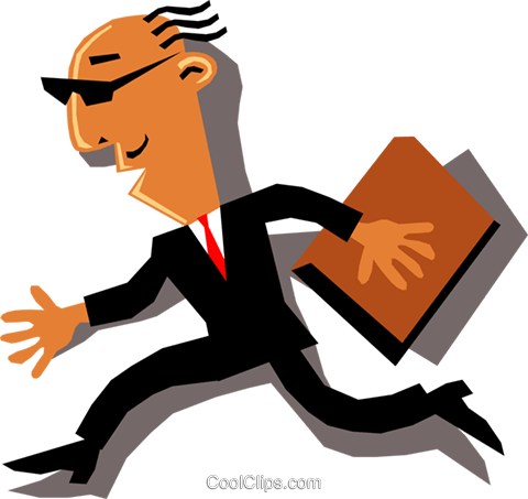Businessmen Royalty Free Vector Clip Art illustration cart1328