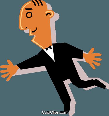 商人 免版税矢量剪贴画插图