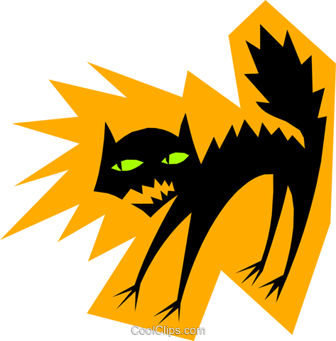 Cats Royalty Free Vector Clip Art illustration even0514