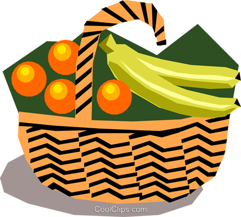 fruit basket royalty free vector clip art illustration food0598 rh search coolclips com fruit basket clip art fruit basket clipart outline