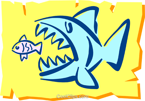 Fish Royalty Free Vector Clip Art illustration anim1210