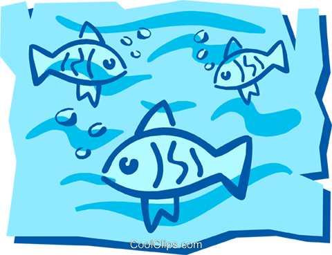 Fish Royalty Free Vector Clip Art illustration anim1212