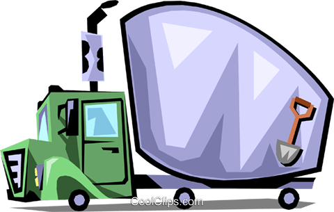 Truck Royalty Free Vector Clip Art illustration indu0585