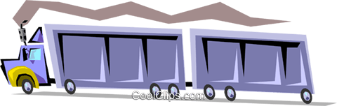 Truck Royalty Free Vector Clip Art illustration indu0587