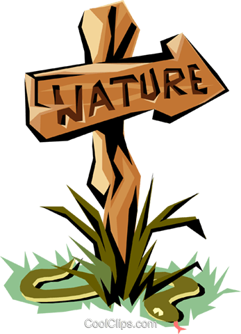 Nature sign Royalty Free Vector Clip Art illustration natu0533