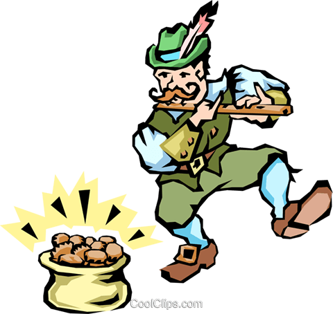 Leprechauns Royalty Free Vector Clip Art illustration peop1555