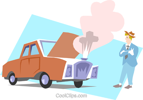Car Repair Royalty Free Vector Clip Art illustration tran0462