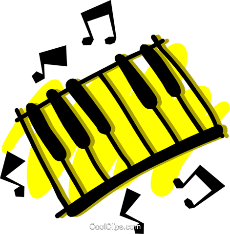 Keyboard Royalty Free Vector Clip Art illustration arts0267