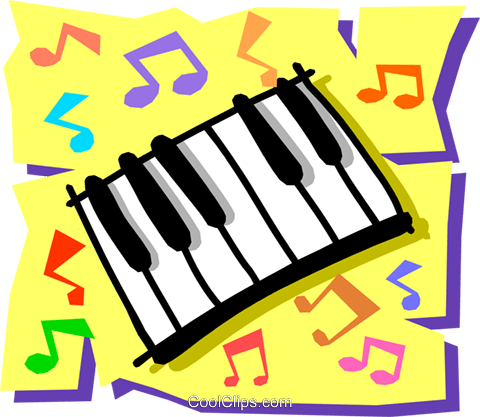 Keyboard Royalty Free Vector Clip Art illustration arts0268