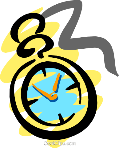 Time Royalty Free Vector Clip Art illustration busi0795