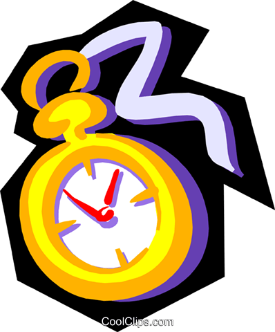 Time Royalty Free Vector Clip Art illustration busi0797