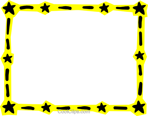 Border Royalty Free Vector Clip Art illustration even0543
