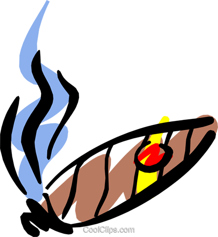 Cigars Royalty Free Vector Clip Art illustration hous0820