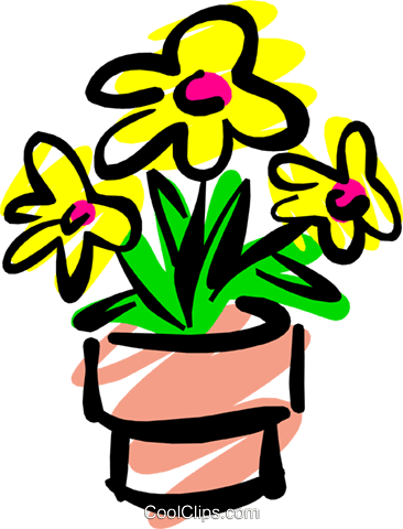 Flowers Royalty Free Vector Clip Art illustration natu0540