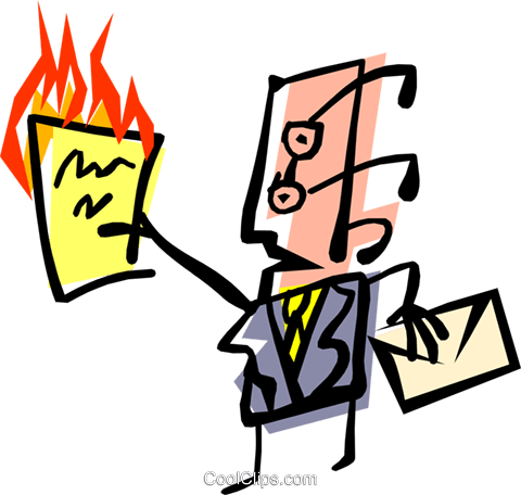Cool office man Royalty Free Vector Clip Art illustration peop1557