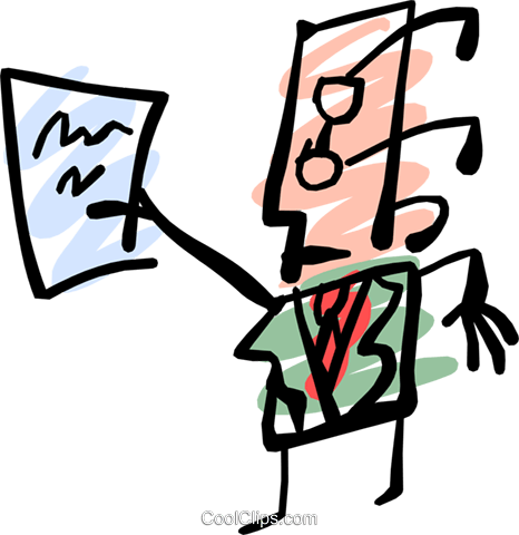 Cool office man Royalty Free Vector Clip Art illustration peop1558