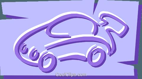 车 免版税矢量剪贴画插图