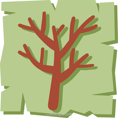 Tree Royalty Free Vector Clip Art illustration natu0546