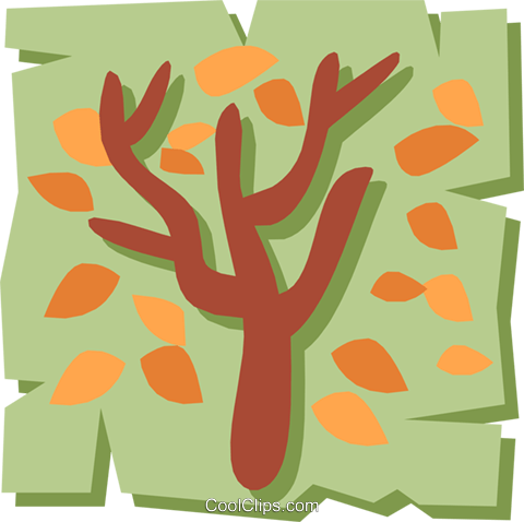 Tree Royalty Free Vector Clip Art illustration natu0552