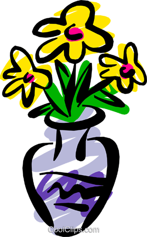 Flowers Royalty Free Vector Clip Art illustration natu0555