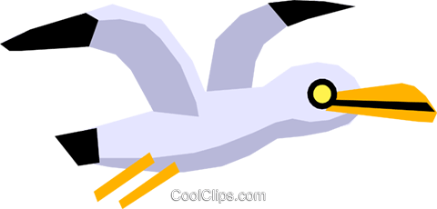 Cartoon bird Royalty Free Vector Clip Art illustration anim1284