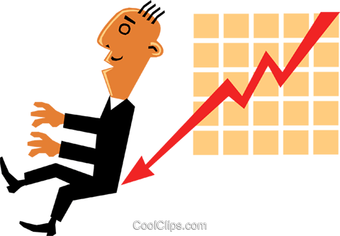 Sales charts Royalty Free Vector Clip Art illustration cart1386