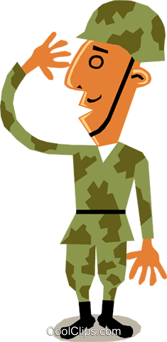 Troops Royalty Free Vector Clip Art illustration cart1415