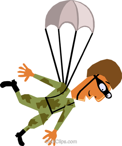 Troops Royalty Free Vector Clip Art illustration cart1419