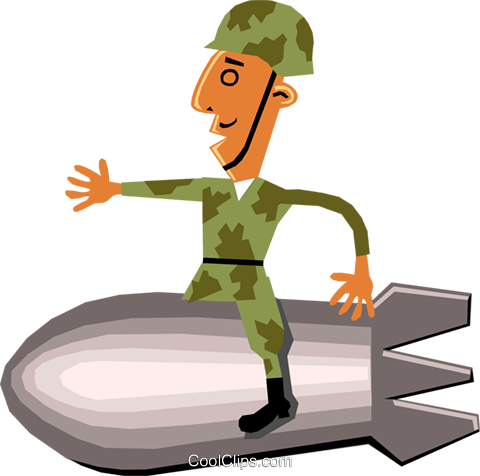 Troops Royalty Free Vector Clip Art illustration cart1421