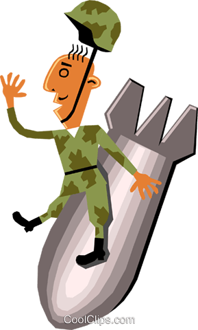 Troops Royalty Free Vector Clip Art illustration cart1422