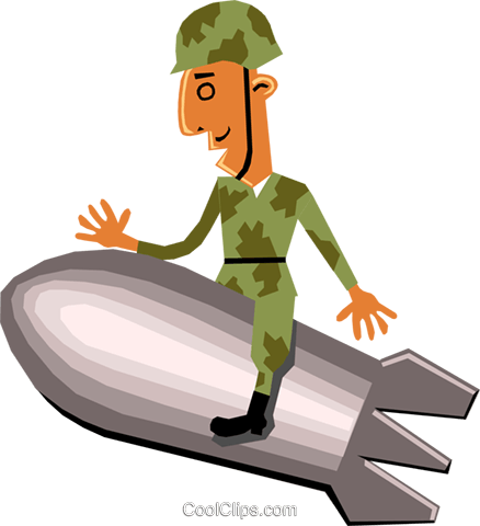 Troops Royalty Free Vector Clip Art illustration cart1423