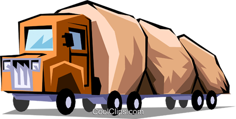 Commercial vehicles Royalty Free Vector Clip Art illustration indu0598