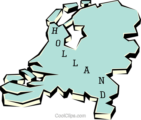 Holland Royalty Free Vector Clip Art illustration worl0670