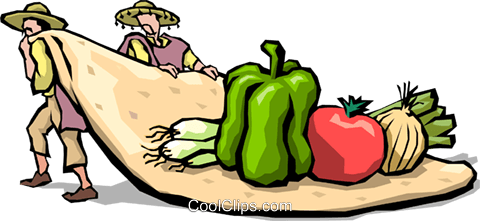 Tortillas Royalty Free Vector Clip Art illustration food0664