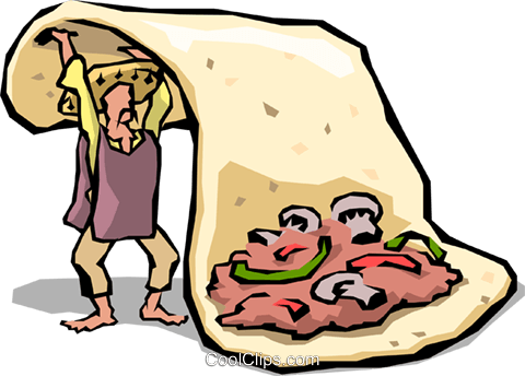Fajitas Royalty Free Vector Clip Art illustration food0666