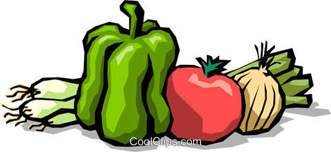 Vegetables Royalty Free Vector Clip Art illustration food0679