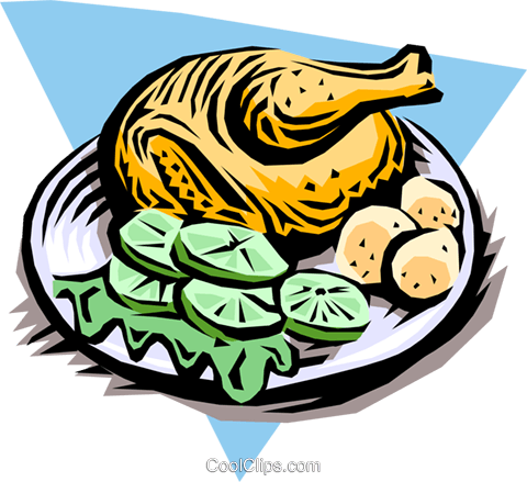 Turkey Royalty Free Vector Clip Art illustration food0687