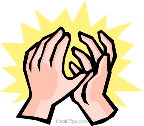 Hands Royalty Free Vector Clip Art illustration hand0210