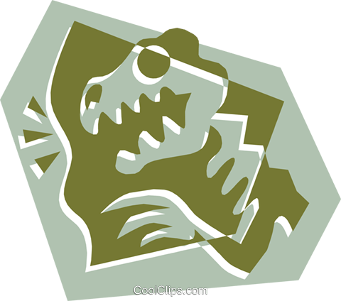 Dinosaur Royalty Free Vector Clip Art illustration anim1324