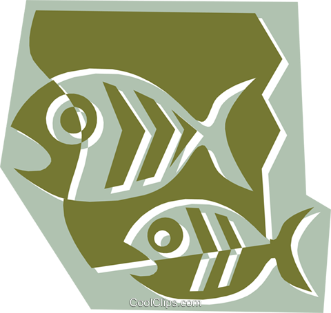 Fish Royalty Free Vector Clip Art illustration anim1326