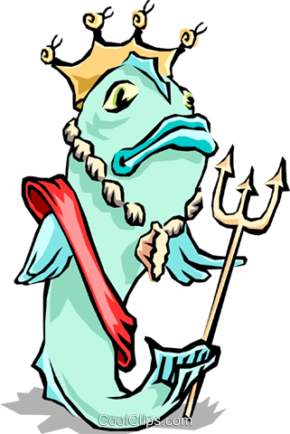 Fish Royalty Free Vector Clip Art illustration anim1329